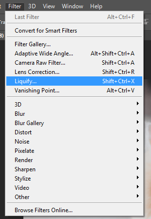 Editing Your Face with Liquify